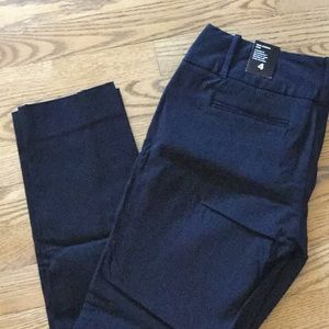 Limited Ideal Stretch Black Ankle Pant Brand New